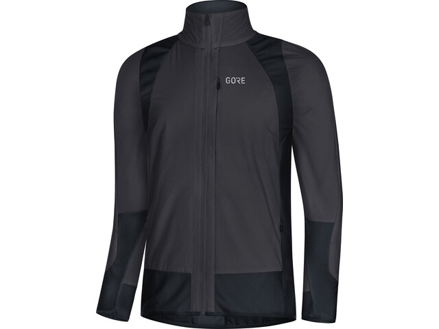 GORE WEAR C5 Partial Gore Windstopper Insulated Veste Homme, terra grey/black